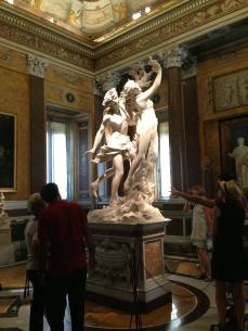 Apollo and Daphne sculpture by Bernini