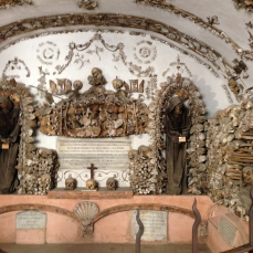 Capuchin Crypts! Those are real bones!
