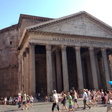 The Pantheon.